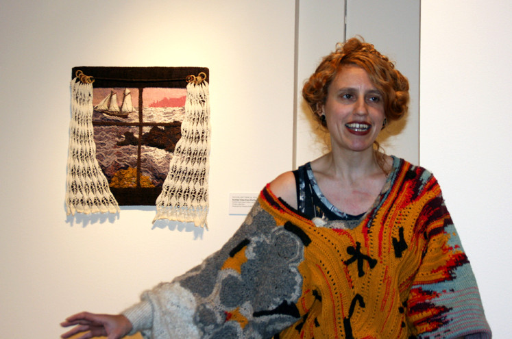 Rachel Matthews at NMWA for High Fiber opening